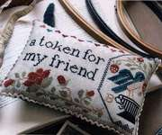 Click for more details of Sewn In Friendship (cross stitch) by Heartstring Samplery