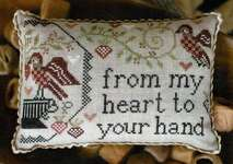 Click for more details of Sewn In Friendship (cross stitch) by Plum Street Samplers