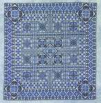 Click for more details of Shades of Turquoise (cross stitch) by Northern Expressions Needlework