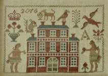 Click for more details of Shall I Compare Thee To A Summer's Day (cross stitch) by Blackbird Designs