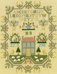Click for more details of Sheep May Safely Graze (cross stitch) by Bothy Threads