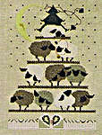 Click for more details of Sheepy Hollow (cross stitch) by The Cross-Eyed Cricket