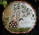 Click for more details of Shepherds Pie (cross stitch) by Plum Street Samplers