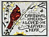 Click for more details of Sign from Heaven (cross stitch) by Stoney Creek