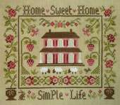 Click for more details of Simple Life (cross stitch) by Jardin Prive