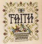 Click for more details of Simply Inspirational - Faith (cross stitch) by Stoney Creek