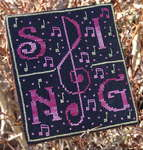 Click for more details of Sing (cross-stitch pattern) by New York Dreamer