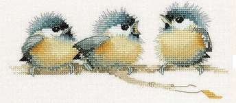 Click for more details of Sitting Pretty (cross stitch) by Valerie Pfeiffer