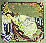 Click for more details of Sleeping Beauty (cross-stitch pattern) by Mirabilia Designs
