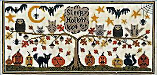 Click for more details of Sleepy Hollow (cross stitch) by Hello from Liz Mathews