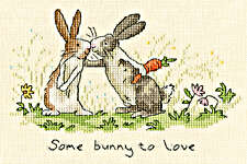 Click for more details of Some Bunny To Love (cross stitch) by Bothy Threads