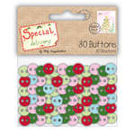 Click for more details of Special Delivery Buttons x 80 (buttons and brads) by Helz Cuppleditch