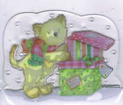 Click for more details of Special Delivery Clear Stamps - Prrrresents... (stamps) by Helz Cuppleditch