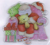 Click for more details of Special Delivery Clear Stamps - Snoozing Santa (stamps) by Helz Cuppleditch