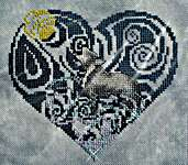 Click for more details of Spirit of the Wild - Wolf (cross stitch) by MarNic Designs