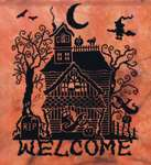 Click for more details of Spooky Welcome  (cross stitch) by Stoney Creek