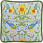 Click for more details of Spring Blue Tits Tapestry (tapestry) by Bothy Threads