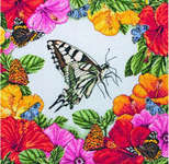 Click for more details of Spring Butterflies (cross stitch) by maia