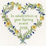 Click for more details of Spring Celebration (cross stitch) by Bothy Threads