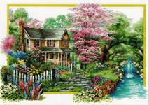 Click for more details of Spring Comes (no-count cross stitch) by Needleart World