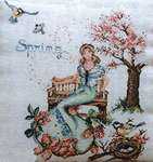 Click for more details of Spring (cross stitch) by Serenita di Campagna
