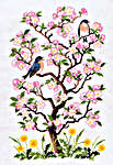 Click for more details of Spring (cross stitch) by Eva Rosenstand