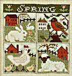 Click for more details of Spring Has Come (cross stitch) by The Prairie Schooler