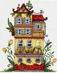 Click for more details of Spring House (cross stitch) by Merejka