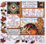 Click for more details of Spring into Fall (cross stitch) by Stoney Creek