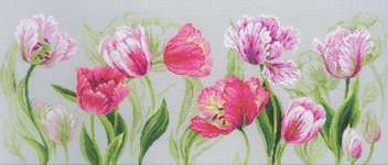 Click for more details of Spring Tulips (cross stitch) by Riolis