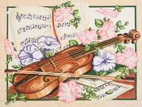 Click for more details of Springtime Concerto Concert (tapestry) by Grafitec