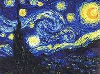 Click for more details of Starry Night (cross stitch) by Riolis