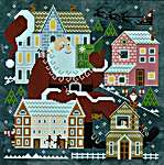 Click for more details of Storytime With Santa (cross stitch) by Cottage Garden Samplings