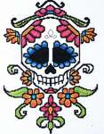 Click for more details of Sugar Skull #1 (cross stitch) by Stoney Creek