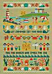 Click for more details of Summer Band Sampler (cross stitch) by Tiny Modernist