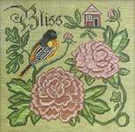 Click for more details of Summer Bliss (cross stitch) by Cottage Garden Samplings