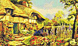 Click for more details of Summer Cottage (cross stitch) by Kustom Krafts