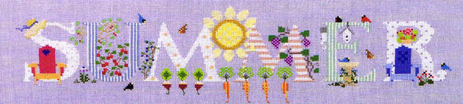 Click for more details of Summer (cross-stitch pattern) by The Cross-Eyed Cricket