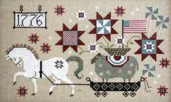 Click for more details of Summer Delivery (cross stitch) by Plum Street Samplers