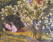 Click for more details of Summer Garden (cross stitch) by Eva Rosenstand