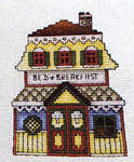 Click for more details of Summer in the Village (cross stitch) by Stoney Creek
