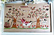 Click for more details of Summer is a Hammock for Two (cross stitch) by Cuore e Batticuore