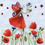 Click for more details of Summer Meadow (cross stitch) by Bothy Threads