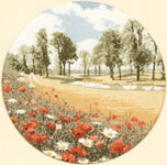Click for more details of Summer Meadow (cross stitch) by John Clayton