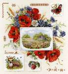 Click for more details of Summer Sampler (cross stitch) by Merejka