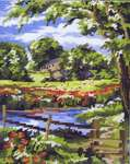 Click for more details of Summer Scene (tapestry) by Anchor