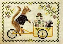 Click for more details of Summer Squirrel (cross stitch) by The Blue Flower