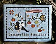 Click for more details of Summertide Blessings (cross stitch) by Plum Street Samplers