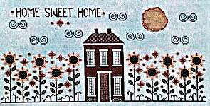 Click for more details of Sunflower Street (cross stitch) by Vintage Needlearts