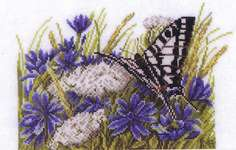 Click for more details of Swallowtail (cross stitch) by Marjolein Bastin